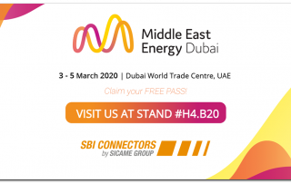 SBI CONNECTORS Middle East Energy, Dubai 2020. SBI CONNECTORS otro año en la MEE